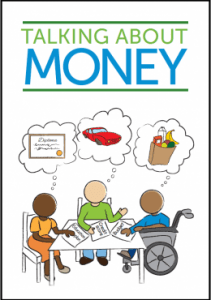 Cover of 'Talking About Money' booklet